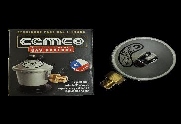 Regulador de gas 5,11,15 kilos Certificado COD 360930004