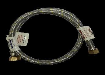 Flexible para gas 1M certificado 1/2 x 1/2 COD 360930007